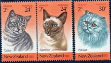 New Zealand 1983,  Health Stamps, Cats, MNH