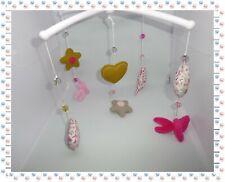 € - Mobile Musical Cœurs Etoiles Papillons Perles  Vert Baudet
