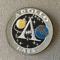 USA Space Administration Apollo Moon Landing Project Hook Loop Patch Badge