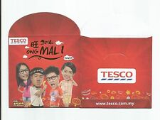 TESCO MALAYSIA 2014  ANG POW RED PACKET x 2pcs