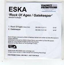 (GD577) Eska, Rock Of Ages / Gatekeeper - 2015 DJ CD