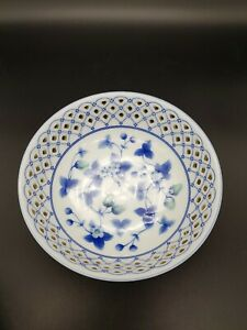 Maple White China Bowl