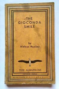 Aldous Huxley The Gioconda Smile 1932 Albatross First Edition