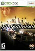Need for Speed undercover XBOX 360 Game Disc Only 40y