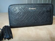 Desigual black studded purse/wallet