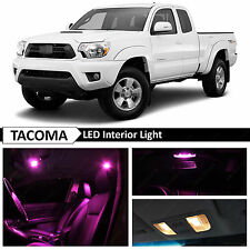 9x Pink Interior LED LIghts Package Kit for 2005-2015 Toyota Tacoma