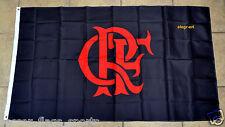 Flamengo Flag Banner Bandeira 3x5 ft Brasil Clube de Regatas Futbol Soccer Black