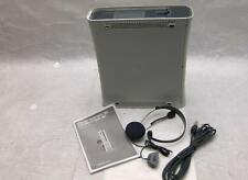Microsoft XBox 360 White W/ Headphones in Box Sold As Is For Parts