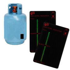 Propane Butane  LPG Fuel Gas Tank Level Indicator Magnetic Gauge Gas Test Card