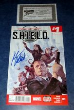 SHIELD #1 signed 1st print MARK WAID MARVEL COMIC 2015 legends of S.H.I.E.L.D TV