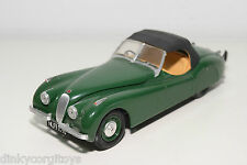 KIT HANDBUILD MMI JAGUAR XK 120 XK120 DARK GREEN EXCELLENT CONDITION RARE SELTEN