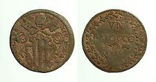 pcc1648_14) PONTIFICIO GUBBIO BENEDETTO XIV 1740-1758 BAIOCCO 1750 A X