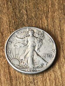 1943D Walking Liberty Half Dollar F