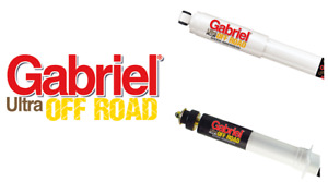REAR GABRIEL Ultra Plus Shock Absorbers FOR FORD Ranger PJ, PK RWD & 4WD