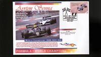 AYRTON SENNA F1 WORLD CHAMPION COVER, LOTUS