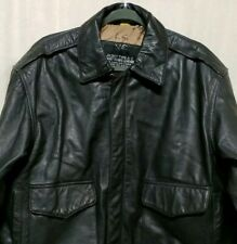 Type A-2 Size L US Army Air Force Flyers Black Leather Jacket No 8415 1958-A2-8