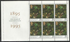 (NT1) GB QEII Stamps NATIONAL TRUST Prestige Booklet Pane ex DX17 1995