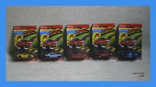 majorette SUPERS LOT X 5 MOSC SERIE 230 MADE IN THAILAND VTG FERRARI GTO FORD