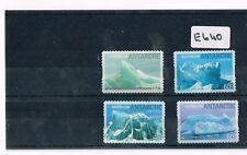 Australian Antarctic Territory 2011 Icebergs 4 Values P/S Fine Used   E640