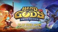 "PC hand of the Ilse: Smite Legendary Chinese God ""Guan Yu"" (Pack bonus código key)"