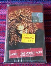 Janet Jackson ~ The Velvet Rope ( Malaysia Press ) Cassette