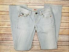 MEK Denim Jeans Womens Chicago Boot Cut Stretch Flap Pocket Tag Size 26
