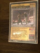 WWE Raw Deal CCG Overhand Chairshot Strike+Strike:Foreign Foil!!