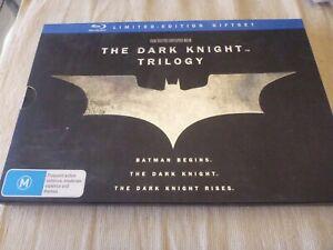 The Dark Knight Trilogy - Limited Edition (Blu-ray, 2012, 5-Disc Set) Region B