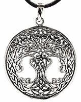 Haarspange Weltenbaum Ornamente Knoten Mittelalter Schmuck K9.17 Lebensbaum Frau
