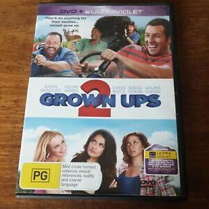 Grown Ups 2 DVD R4 Like New! FREE POST