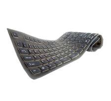 Flexible USB-Tastatur in voller Größe Schwarz
