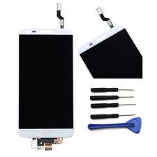 White LCD Ecran Tactile Digitizer ASSEMBLÉE Complet pour LG Optimus G2 D802