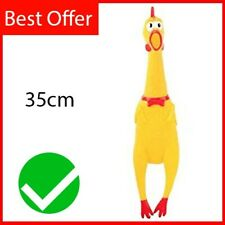 Squawking Rubber Chicken - Dog Chew Toys for All Dogs - UK ✅