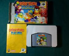 Diddy Kong Racing Nintendo 64 N64 Game Complete CIB Tested
