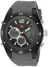 U.S. Polo Assn. Sport Men's Quartz Metal Rubber Casual Timer Watch Grey US9538