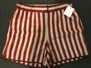 CHLOE STORA 40% OFF new branded cool fashionable & sexy red and silver shorts