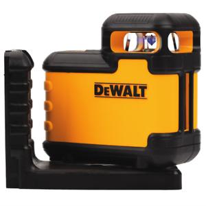 DeWalt DW03601 Laser RED BEAM Crossline 360° 20m + Bracket DW03601-XJ
