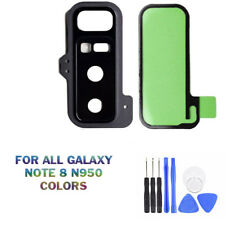 NEW SAMSUNG GALAXY NOTE 8 N950 BACK CAMERA GLASS LENS COVER WITH ADHESIVE OEM