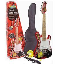 Spongebob 3/4 Size Electric Guitar Set with Built In Speaker + FREE Bag RRP £129