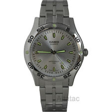 Casio MTP-1243D-7A Men's Casual Silver Analog Watch w/ Luminous Hour Marks