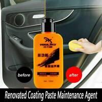 Automotive Car Interior Auto Leather Renovated Coating Paste Maintenance Agent