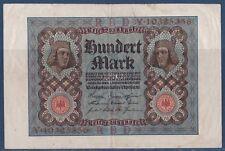 billet de banque Allemand 100 Mark Reichsbanknote 1920