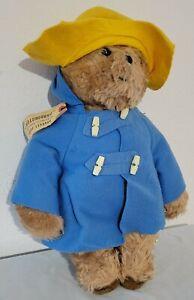 "1970's Eden Toys Paddington Bear 19"" tall ""Darkest Peru to London"" tag"