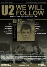 U2 The October Tour The Ritz New York 18th March 1982 - Gold Vinyl VINYL LP NEW