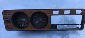 Volkswagen vw Rabbit Diesel Instrument mk1 Cluster Panel