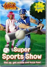 Lazy Town: Super Sports Show NEW DVD Promoting Healthy Lifestyle For Children