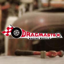 Dragmaster racing Wheels Pegatina Sticker dragracing drag racing Hot Rod