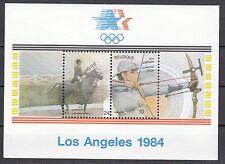 Belgien Block 54 postfrisch, Olympische Sommerspiele in Los Angeles
