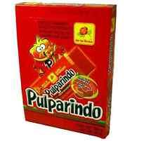DE LA ROSA PULPARINDO EXTRA HOT 20ct, Extra Hot Tamarind Pulp Mexican Candy