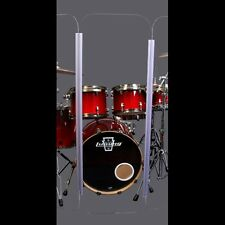 Drum Shield DS5 L 6 Section Drum Shield Acrylic Drum Panels Drums